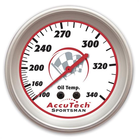 Longacre 46521 AccuTech Sportsman 2015 Oil Temp Gauge