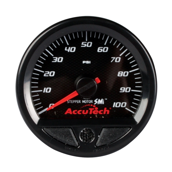 Longacre 52-46540 Stepper Motor Racing Gauge, Oil Pressure