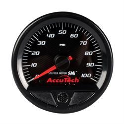 Longacre 46540 Stepper Motor Racing Gauge, Oil Pressure