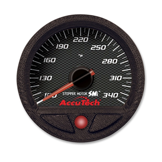 Longacre 52-46554 AccuTech Oil Temperature Gauge, Silicone Sealed