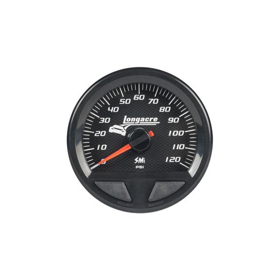 Longacre® 52-46749 SMi  Elite Waterproof Oil Pressure Gauge