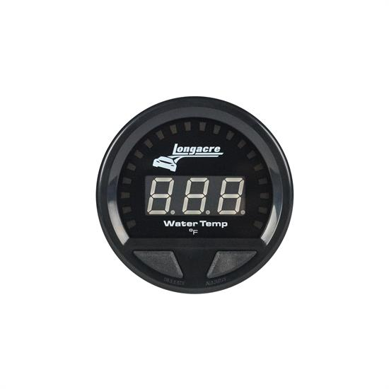 Longacre® 52-46860 Digital Elite Waterproof Water Temp. Gauge