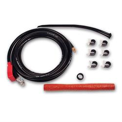 Longacre 48050 Rear Battery cable kit - 133 strand, 13 ft. 1/0 cable