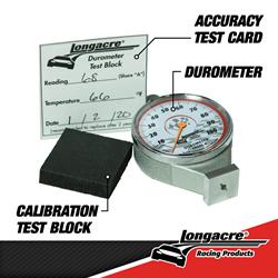 Longacre® 52-50546 Deluxe Tire Durometer with Storage Case