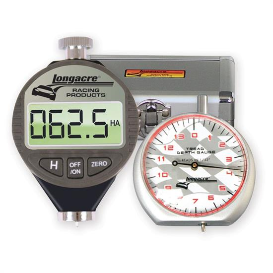 Longacre 52-50557 Digital Tire Durometer & Dial Tread Depth Gauge