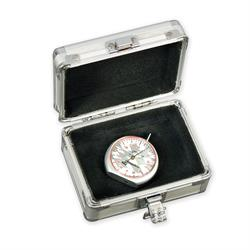 Longacre 50562 Dial Tread Depth Gauge with Silver Case