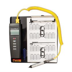 Longacre 50642 AccuTech Deluxe Digital Pyrometer with Clipboard