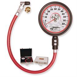 Longacre 52000 Pro Precision 4 1/2 Tire Gauge 0-60 by 1/2 lb