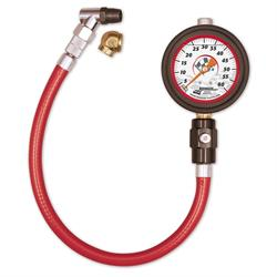 Longacre 52002 Liquid Filled 21/2 GID Tire Gauge 0-60 by 1/2 lb