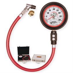 Longacre 52011 Magnum 3 1/2 GID Tire Gauge 0-40 by 1/2 lb