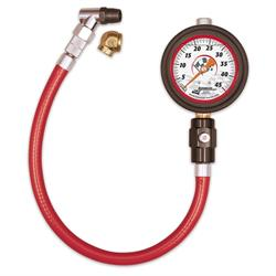 Longacre 52012 Liquid Filled 2 1/2 GID Tire Gauge 0-45 by 1/2 lb