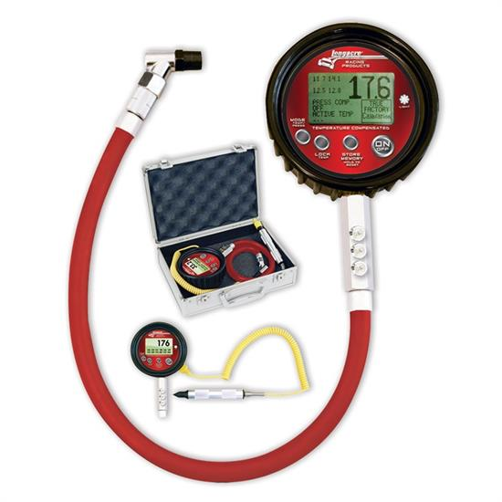 Longacre 53007 Temp Compensated Digital Tire Pressure Gauge 0-60 psi