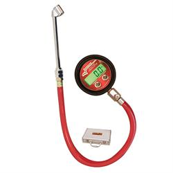 Longacre 53026 Pro Digital Tire Pressure Gauge 0-125 psi with Foot Valve