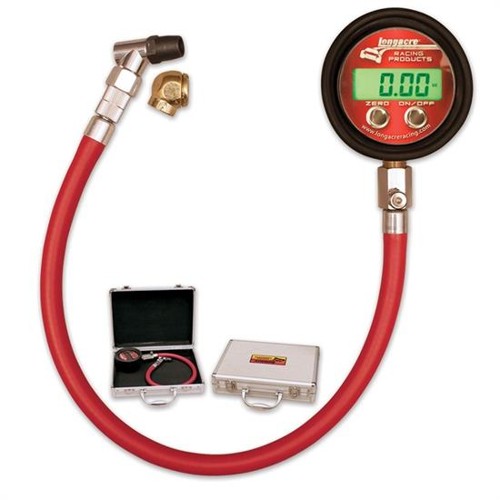 Longacre 52-53060 Pro Metric Digital Tire Pressure Gauge 0-4 Bar