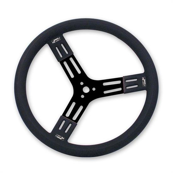 Longacre 52-56809 15 in Fat Grip Aluminum Steering Wheel
