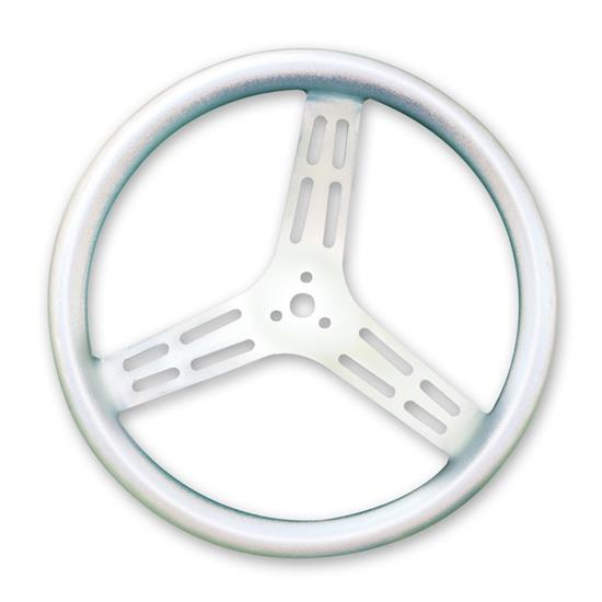 Longacre 52-56836 15 in Uncoated Aluminum Steering Wheel