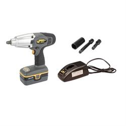 Longacre 68602 Pit Impact Gun with 1 Battery & Charger