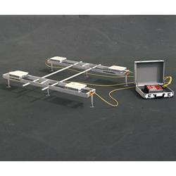 Longacre 72962 Billet Aluminum Kart Setup Fixture - 15 in. CNC kart pads