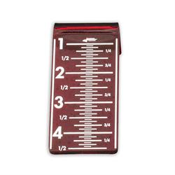 Longacre 72987 Laser Chassis Height Checker Target 1 in. - 4-1/2 in.