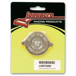 Longacre 75260 radiator cap - 22 -24 psi