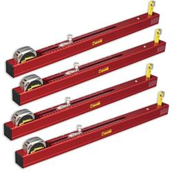 Longacre 78322 Chassis Height Measurement Tool - Short (Set of 4)