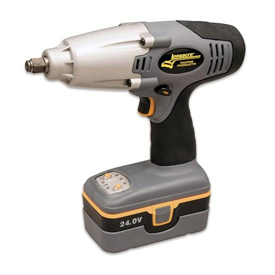 Longacre M68604 Pit Impact Gun with 2 Batteries & 220V Charger