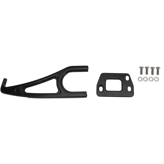 Eddie Motorsports MS274-41MB 1956 Chevy Hood Latch & Support, Black