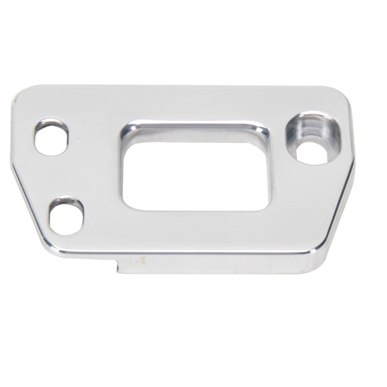 Eddie Motorsports MS274-43CL 1955-57 Chevy Hood Latch Plate, Clear