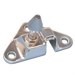 Eddie Motorsports MS276-15P Polished Hood Latch, 1967 Chevelle