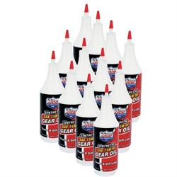 Lucas Oil 10047 SAE 75W90 Synthetic Racing Gear Oil, Case