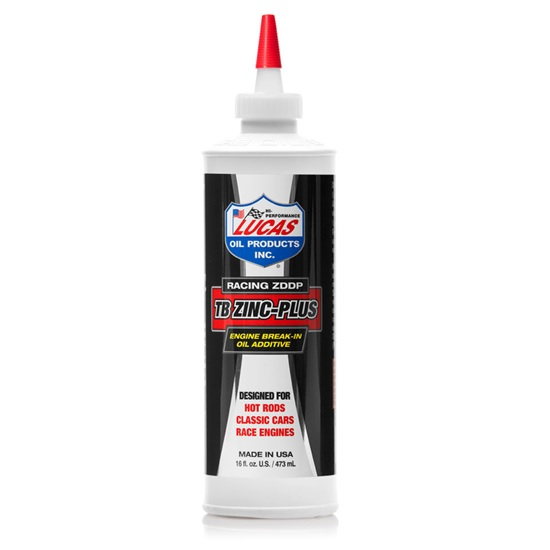 Lucas 10063 Engine Break-In Oil Lube Additive, 16oz