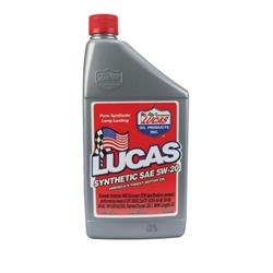 Lucas Oil 10082 SAE 5W20 Synthetic Engine Oil, 1 Quart