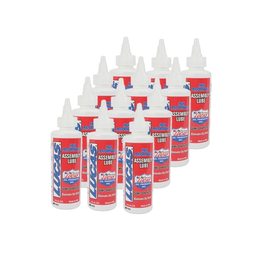 Lucas 10152 Semi-Synthetic Assembly Lube, Case of 12 Bottles