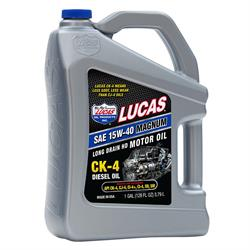 Lucas Oil REVERSE BOM Engine Oils, 15W40, CK- 4 Diesel Oil, 1 Gal