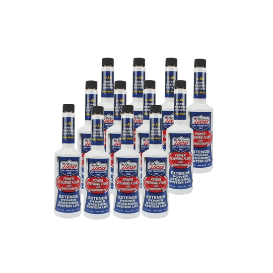 Lucas 10442 Power Steering Fluid, Case of 12 Bottles