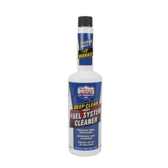 Lucas 10512 Deep Clean Fuel System Cleaner, Fuel Additive