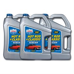 Lucas Oil 10683 SAE 10W40 Hot Rod Engine Oil, Three 5 Quart Jugs