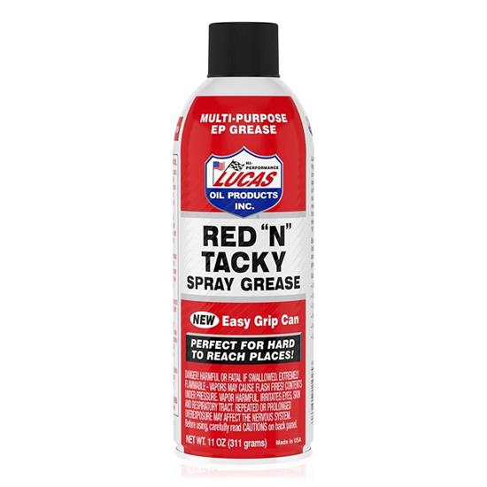 "Lucas Oil 11025-1 Red ""N"" Tacky Lithium Grease, 1 Can"