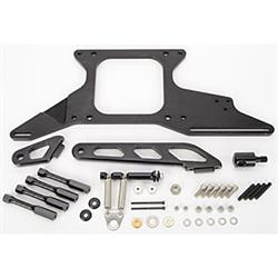 Lokar 1010128 Throttle Cable/Spring Return Bracket Kit, Open, Black
