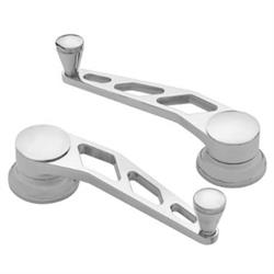 Lokar IDH-2015 Polished Billet Aluminum Window Crank, GM, Ford 1949-Up