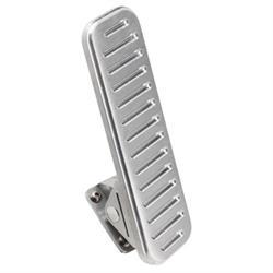 Lokar FMG-6097 Eliminator Floor Mount Throttle Pedal, Billet Alum