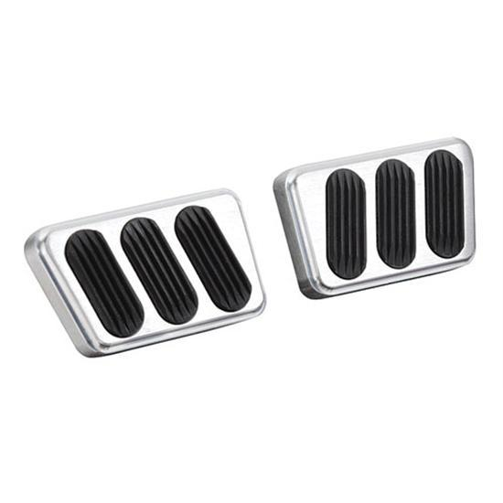 Lokar BAG-6005 Billet Aluminum Brake Pad with Rubber