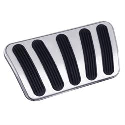 Lokar BAG-6166 67-72 Chevy/GMC Curved Billet Alum Auto Brake Pedal Pad