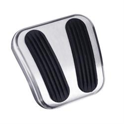 Lokar BAG-6169 67-72 Chevy/GMC Curved Billet Alum E-Brake Pedal Pad