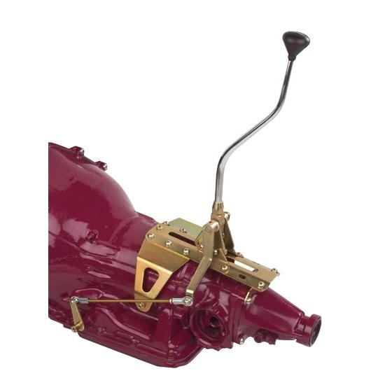 Lokar ATS6400R2 GM TH400 Radical Double Bend Shifter 32 Inch