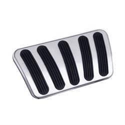 Lokar BAG-6167 67-72 Chevy/GMC Billet Auto Brake Pad w/Rubber, Long