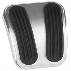 Lokar BAG-6181 66-77 Ford Bronco Billet Alum Parking Brake Pedal w/Pad