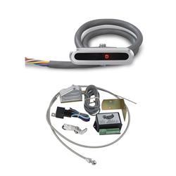 Lokar CIND-1723 Horiz Alum. LED Dash Shift Indicator Kit, 727/904/518