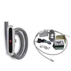 Lokar CIND-1724 Vert. Alum. LED Dash Shift Indicator Kit, 727/904/518