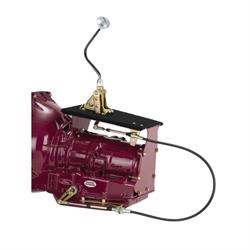 Lokar COS64R70WGM Cable Operated Shifter, 4R70W, Mushroom